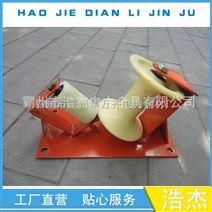 电缆放线滑子 单转向电缆滑轮 钢管 钢板V字