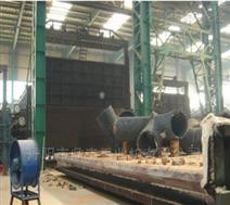 燃气台车炉,台车式热处理炉