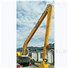 两段式钩机加长臂 挖掘机18米大小臂