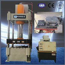 100吨金属拉伸成型液压机不锈钢锅成型机