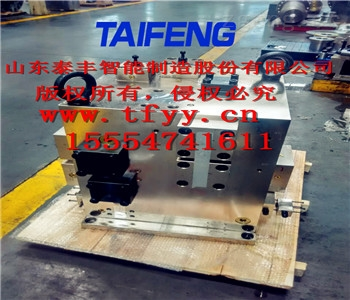 泰丰YN32-1250BXCV双泵头单卸荷带支撑阀块