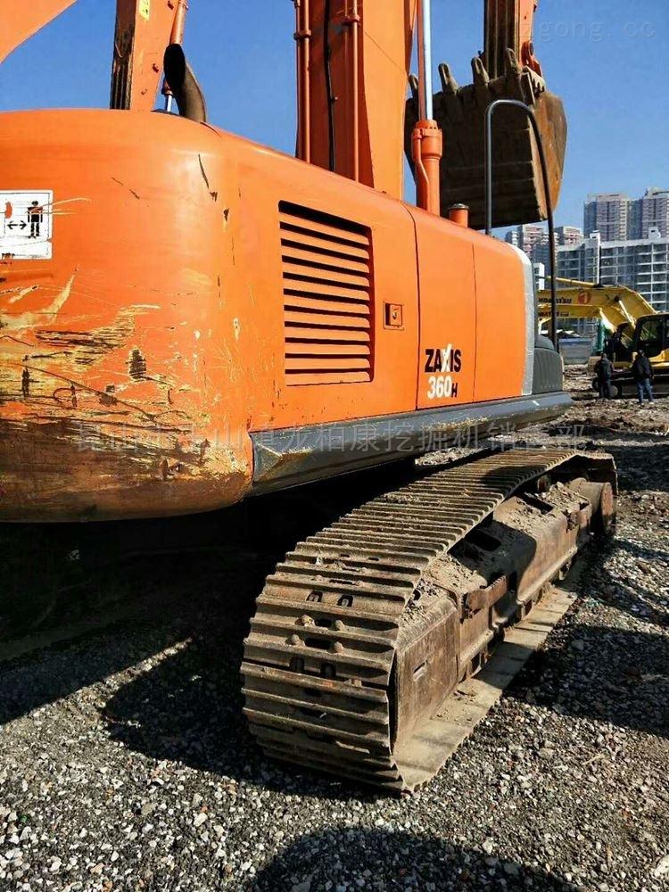 二手挖掘大型9成新日立360挖掘机