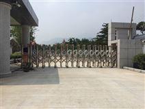 泰安迎金学校不锈钢伸缩门超声波检测装置