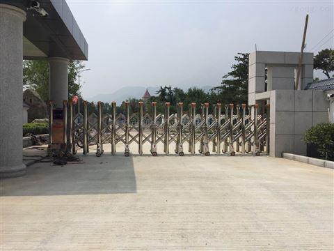 萊蕪迎金學校電動門無壓力式防夾安全裝置