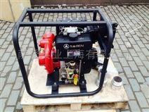 工地专用萨登4寸柴油铁泵