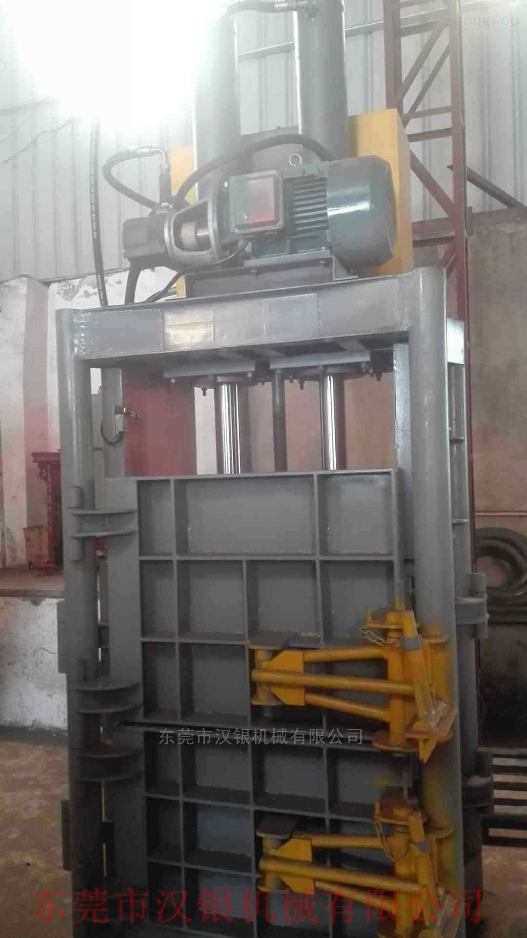 汉银机械60吨立式打包机-立式压包机