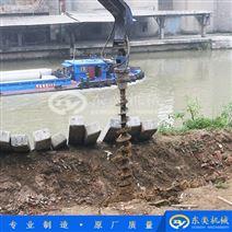 螺旋钻孔机 挖掘机液压钻机成孔设备