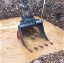 20吨挖机洗沙斗,挖掘机筛分斗 液压筛斗