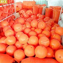 60厘米直径塑料浮漂杭州水上警示浮球