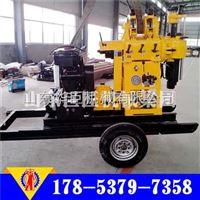 华巨直供牵引式200米钻机油压给进效率高