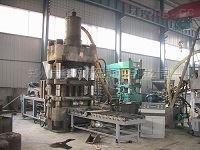 郑州鑫源300铁粉成型液压机Y密度均匀